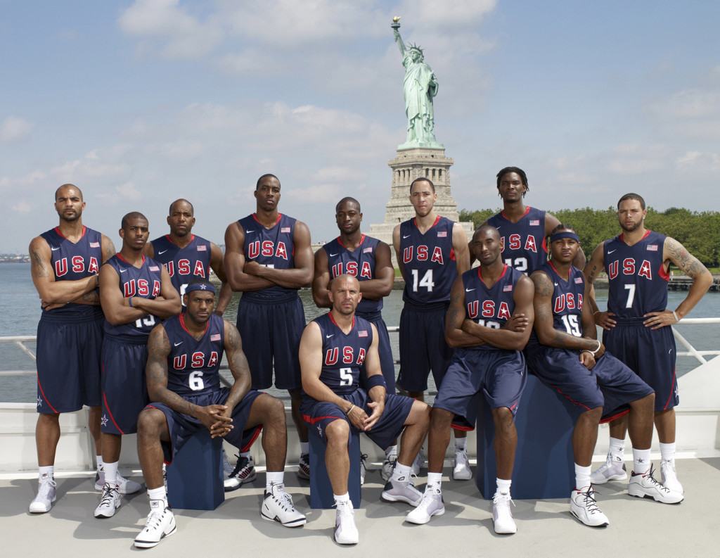 Fj's inspiration to build a team came from 2008 Olympic team coached by Mike Krzyzewski